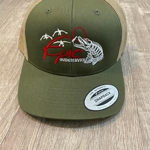 Fishing Apparel - Green Cap
