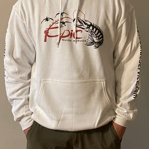 Fishing Apparel - Core Fleece Pullover Hooded Sweatshirt - Front View