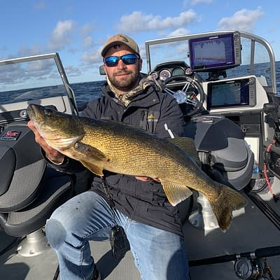 Door county, door county walleye fishing