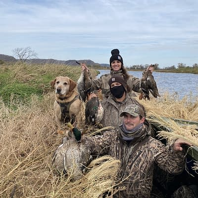 Puddle ducks, mallard, teal, widgon, gadwall, woman hunter, limits
