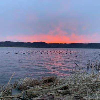 Mississippi River, sunrise