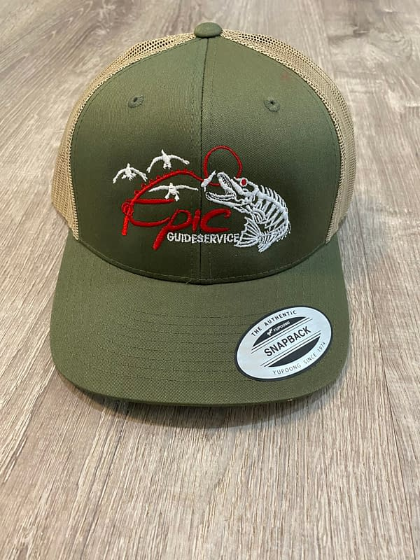 Fishing Apparel - Green Cap
