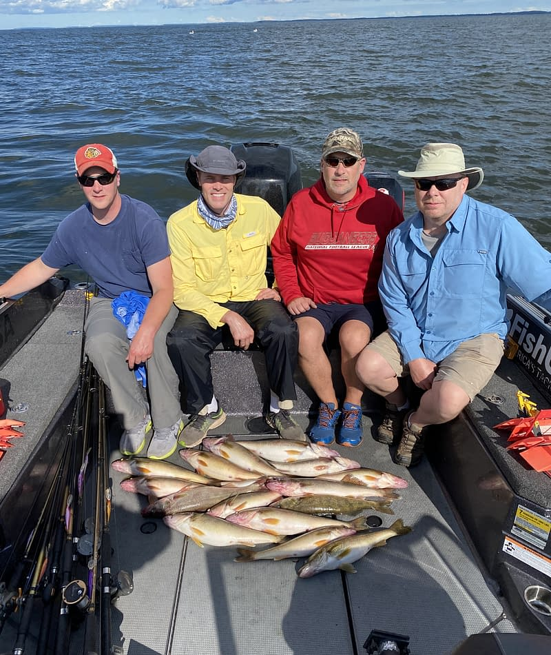 Trolling and casting for Green Bay walleye