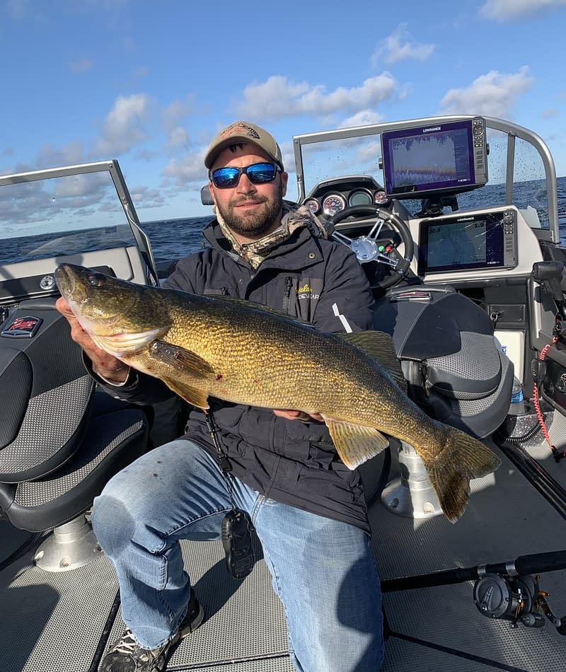 Door county, door county walleye fishing