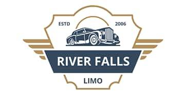 River Falls Limo Logo Design